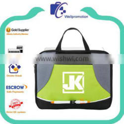 Custom portable cheap 600d conference bag with logo