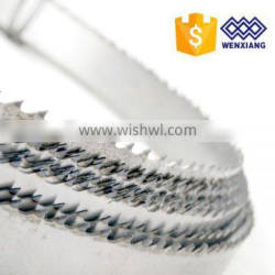 Band saw blade for meat /meat bone/ frozen fish cutting
