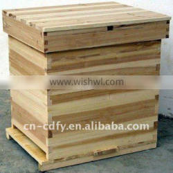 durable in use Solid wood bee hive for beekeeping