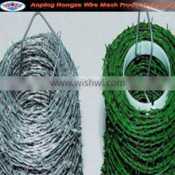 high quality barbed wire roll price fence/weight barbed wire/barbed wire fence netting+ISO9001