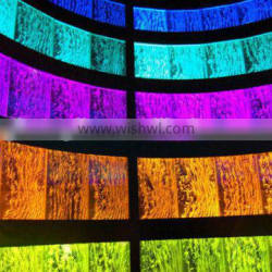automatic changing color acrylic water bubble wall, water fountain, high quality water wall