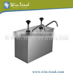 Stainless Steel Condiment Pump