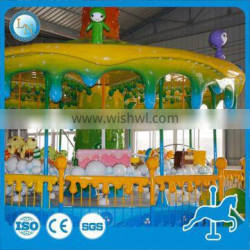 Newly design amusement sweet carousel ride honey tree