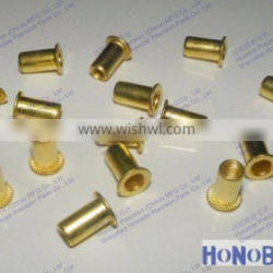 Alibaba Hot sales fastener Male and female brass rivet nut,stainless steel rivet made in China