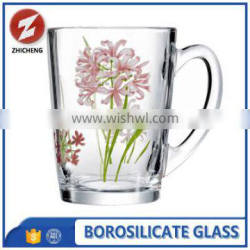 clear mini heat resistant glass coffee cup