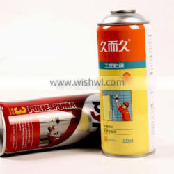400ml empty aerosol cans with size D65 x H158mm for spray paint
