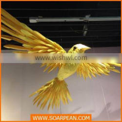 new products giant hanging bird wholesale artificial birds