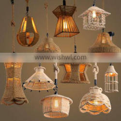 rope hanging pendant light stairs pendant light for home decor/Gallary/coffee bar/shopping mall