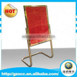 High quality advertising stand posters esay to carry