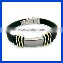 2014 Latest Men's And Women Stainless Steel Magnetic Bracelet TPSB237 From China Best Factory