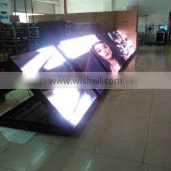 high resolution p6 outdoor advertising full color front service led screen