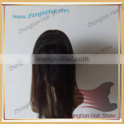 Mongolian Hair Lace Front Headband Hair Grip for Jewish Wigs