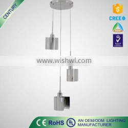 High Quality ROHS/UL E14 5W metal Unique cage pendant lamp