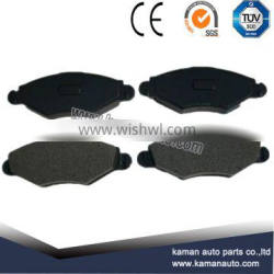 Auto Spare Parts Car disk brake pad for PEUGEOT206 D1143