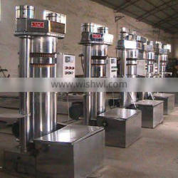 Highly efficient hydraulic sesame oil press