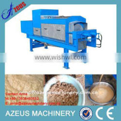 Automatic brewers grains drying processing machine with hydraulic system