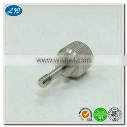High Quality CNC machining stainless steel worm shaft with polishing