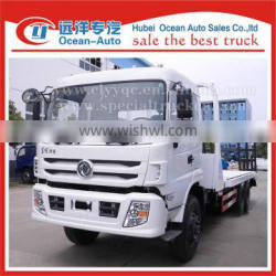 Dongfeng 6x4 euro 4 13 ton flatbed tow body truck