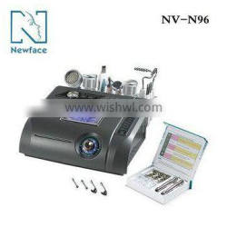 suitable for salon use N96 6IN1 diamond dermabrasion machine with ultrasound and skin scrubber