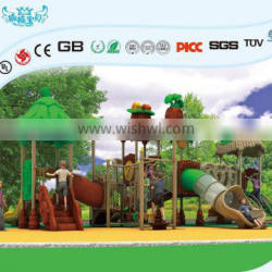Big newest commercial plastic outdoor playground or indoor plyground sale