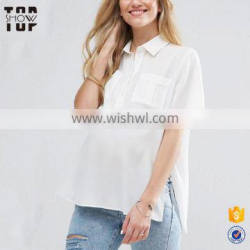 Wholesale maternity clothing with side splits maternity tops wear