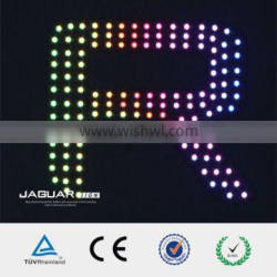 Led frontlit scrolling phone control letters pcb circuit board