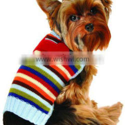2014 New product knitted dog sweaters with bone applique Emboridery