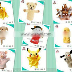 2015 OEM Custom high quality hand puppet for adult wholesale