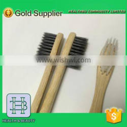 Customsided bamboo toothbrush Bristle Type cheap disposable toothbrush