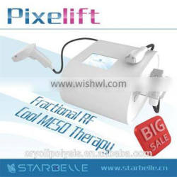 2014 newest facial care cryo machine with mesotherapy and pixe rf for facial