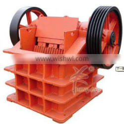 Chinese newest style big stone-to-sand jaw crusher