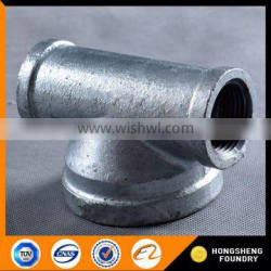 Chinese high standard galvanized black malleable iron pipe fittings