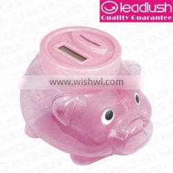 Money Jar,Pig Money Jar with Count Coin Function