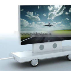 YES-T12 mini outdoor mobile advertising trailer