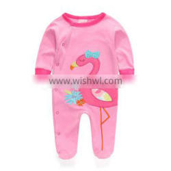 2016 Girl long sleeve papa baby rompers baby clothing