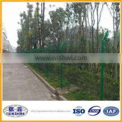insulation wire mesh Green PVC Coated Welded wire mesh fence