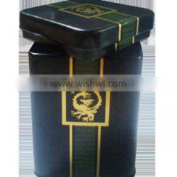 Customized designed sliding tin box for packaging,display
