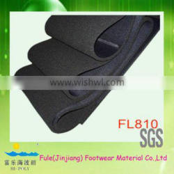 recycle resistant foam for shoe insoles