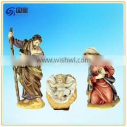Religious Resin Statue With Holy Family Statue Jesus Mary Joseph For Sale