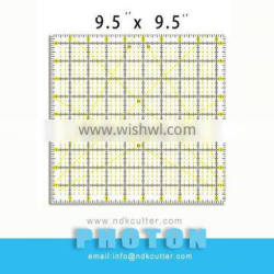 Quilting & sewing Ruler 9.5''x9.5''