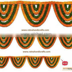 RATNA HANDICRAFTS MULTICOLOR FLOWER GARLAND B-123