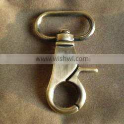 Metal fittings for leather bags snap hook