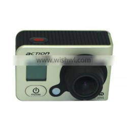 60 Meters Waterproof 140 Degree Wide Angle Ambarella Chip Full HD 1080P GOTOP Sport Action Camera with 10X Digital Zoom Function