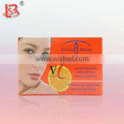 High sales VC 100 g face speckle-removing acne medicated soap
