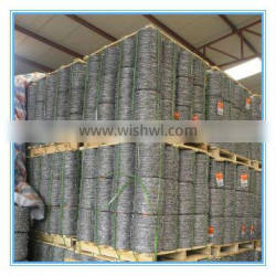 factory supply zinc galvanized barbed wire gurd netting