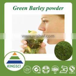 Factory KINGSCI supply plant extract pure organic barley grass powder,Wheatgrass Juice Powder,Green Barley Powder