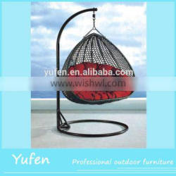 outdoor garden set rattan hanging bed