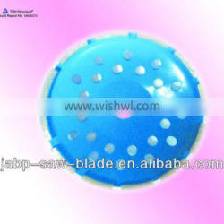 Lapping disc for marble