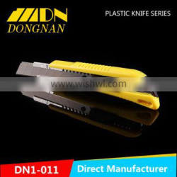 Economic ABS material utility knife popular cutter knife safety utility knife