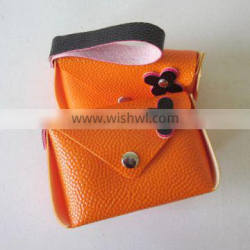 About 10 Years Manufacturer Custom Creative Rivet Litchi Grain Mini Coin Purse